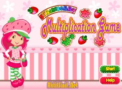 Strawberry Shortcake Multiplication Game