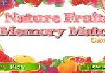 Nature Fruits Memory Math Game
