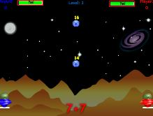 Space Math Game